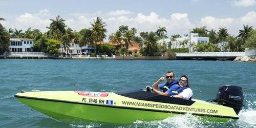 Speed Boat Adventure Miami