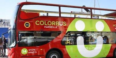 Hop-on Hop-off Colorbus Marseille
