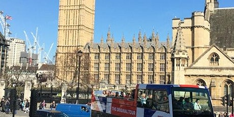 Hop-on Hop-off Open Bus Tour + Tower of London tickets