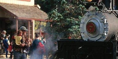 Santa Cruz Beach Train: Roundtrip