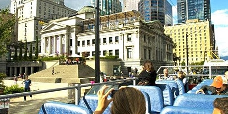 Hop-on Hop-off Bus Vancouver tickets