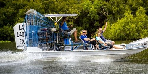 Airboat Swamp Adventure