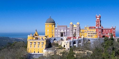Park and Pena Palace in Sintra