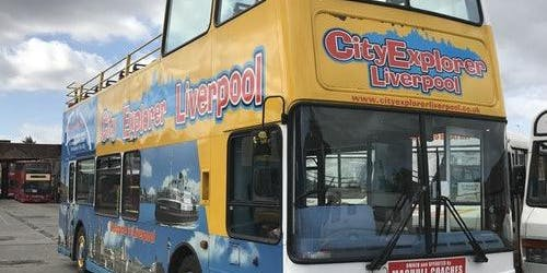 Hop-on Hop-off Bus Liverpool 24H