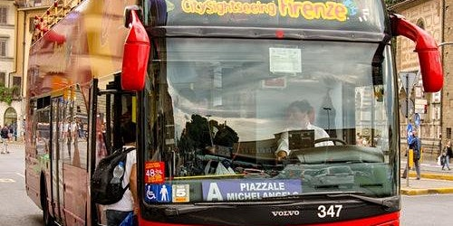 Hop-on Hop-off Bus Florence