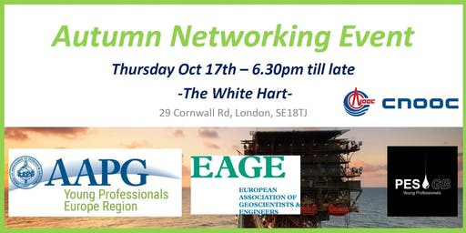 AAPG, EAGE and PESGB Autumn Networking Event