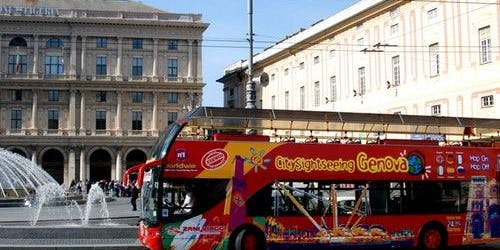 Hop-on Hop-off Bus Genoa