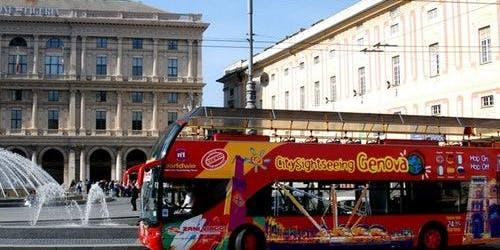 Hop-on Hop-off Bus Genoa