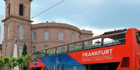Hop-on Hop-off Bus Frankfurt tickets