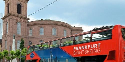 Hop-on Hop-off Bus Frankfurt