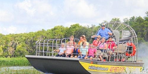 Central Florida Everglades Airboat Tour + Wildlife Park