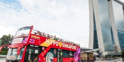 CitySightseeing Hop-on Hop-off Bus Tour Singapore