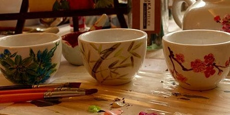 Chinese Teacups Painting Workshop tickets