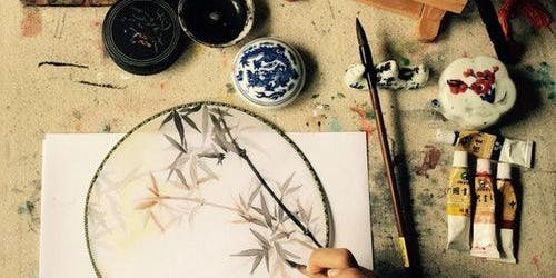 Chinese Fan Painting Workshop