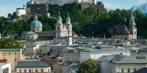 Salzburg Panorama City Tour by Bus and Boat