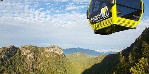Sea to Sky Gondola: Roundtrip