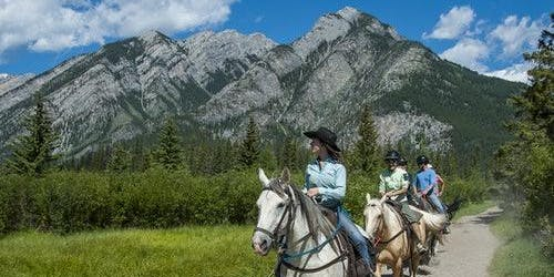 Sundance Loop Trail Ride from Banff