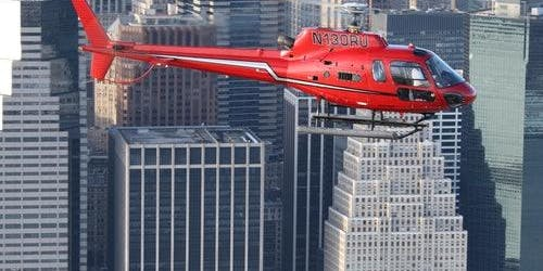NYC Helicopter Flight from New Jersey