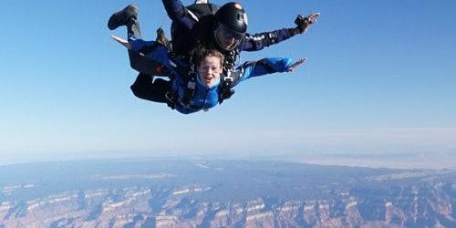 Skydive at the Grand Canyon from Phoenix