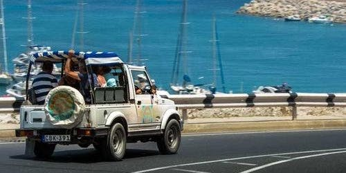 Combo Tour: Gozo Jeep Safari & Comino Cruise