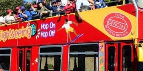Hop-on Hop-off Bus Hollywood and Los Angeles