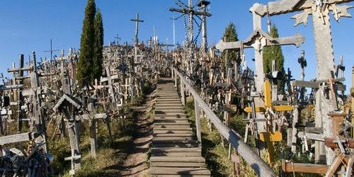 Hill of Crosses & Šiauliai: Roundtrip from Vilnius