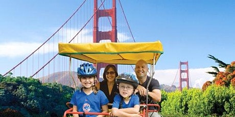 Surrey Bike Rental in Golden Gate Park tickets