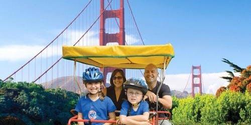 Surrey Bike Rental in Golden Gate Park
