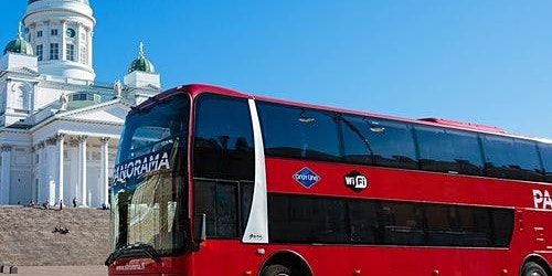 Helsinki Panorama Sightseeing: Guided Bus Tour