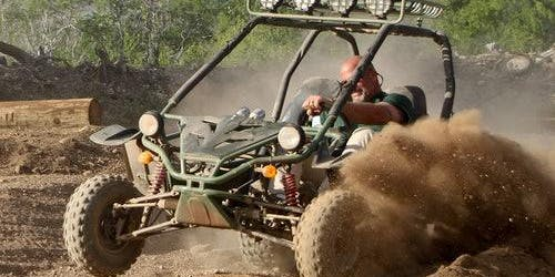Coral Crater Park: ATV Off-Road Adventure & Sunset Snorkel Dinner Cruise