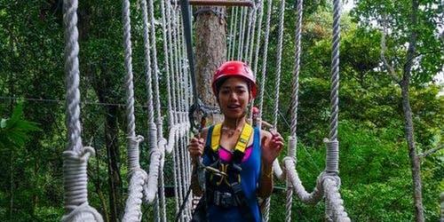Langkawi Zipline Jungle Flight Tour