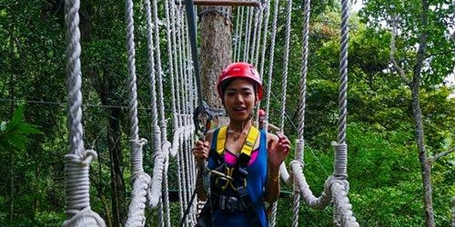 Langkawi Zipline Jungle Flight Tour
