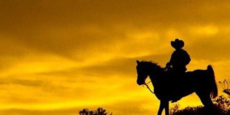 Wild Wild West Sunset Horseback Ride + Dinner tickets