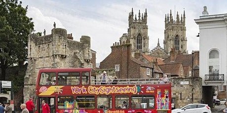Hop-On Hop-Off Bus York tickets