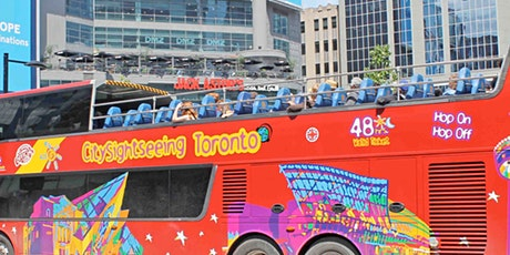 Hop-on Hop-off Bus Toronto: 48H Pass tickets
