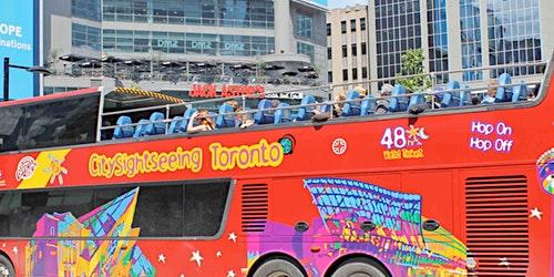 Hop-on Hop-off Bus Toronto: 48H Pass