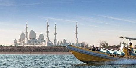 The Yellow Boats: 60-minute Abu Dhabi Tour tickets