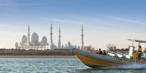 The Yellow Boats: 60-minute Abu Dhabi Tour