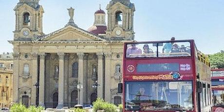 Hop-on Hop-off Bus Malta tickets