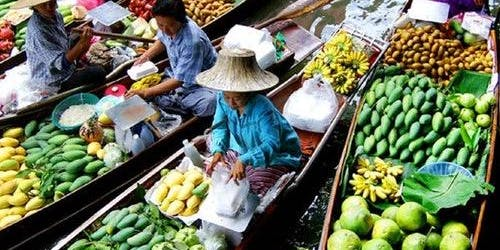 Damnoen Floating Market: Guided Tour