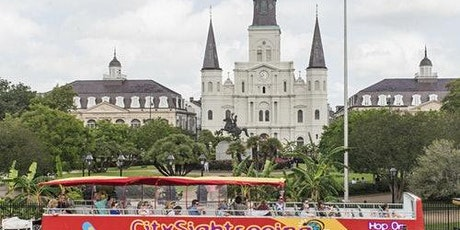 Hop-on Hop-off Bus New Orleans tickets