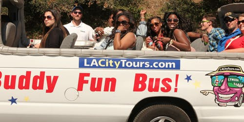 Hollywood Celebrity Homes: Open Top Bus Tour