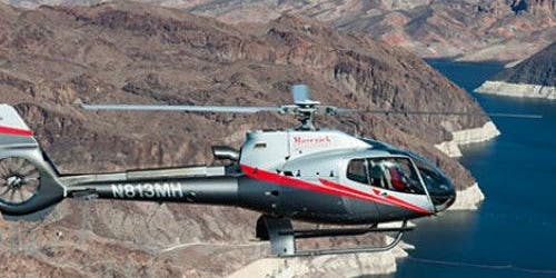 Grand Canyon Helicopter Landing