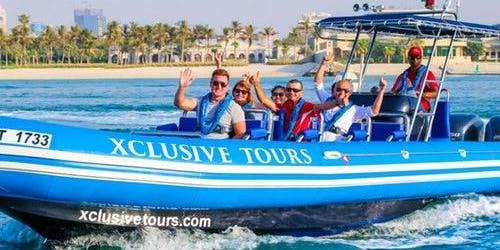 Ain Wheel, Palm, Atlantis & Burj Al Arab: Sightseeing Boat Tour