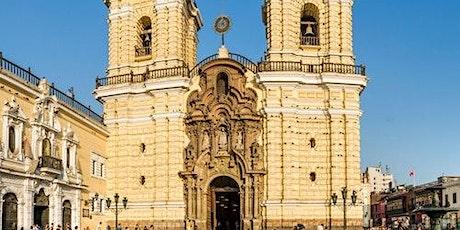 Lima Walking Tour & San Francisco Monastery tickets