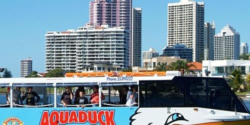 Aquaduck 1-Hour City Tour and River Cruise