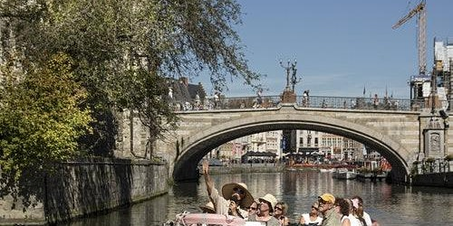 Guided Boat Tour through Historical Ghent
