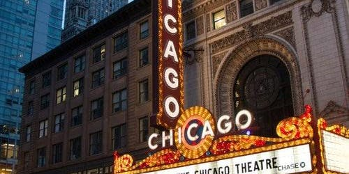 Chicago Theatre Marquee Tour