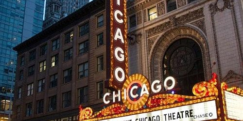 Chicago Theatre Marquee Tour
