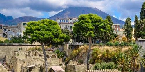 Vesuvius & Herculaneum Card